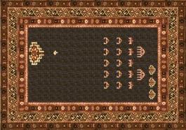 Janek Simon, Carpet Invaders, 2002. Interactive installation. Courtesy of Raster Gallery.